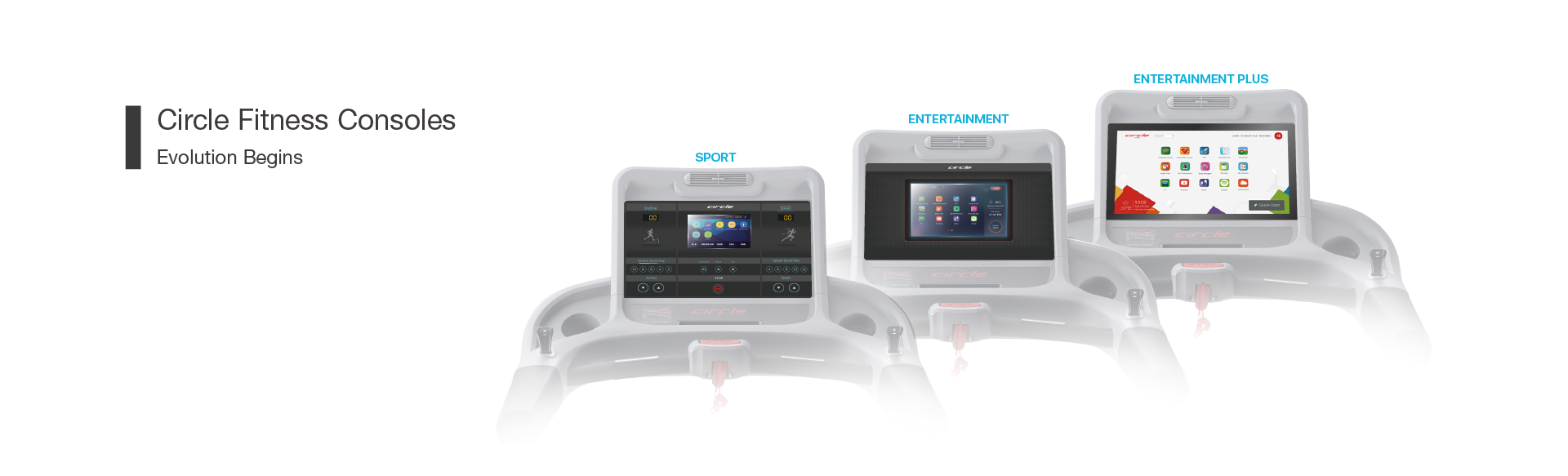 Circle Fitness Consoles